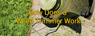 How Does a Weed Trimmer Work