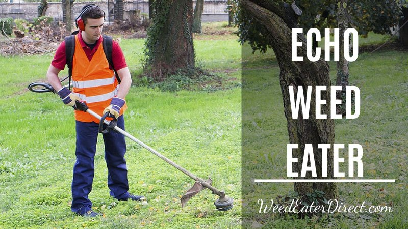 echo weed eater